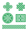 Celtic knots, braid patterns - St Patrick's Day