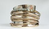 Fototapety Blue bracelet design idea for stylish women