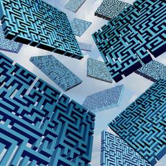 Maze Confusion Concept