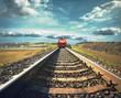 obraz - Railroad with a fr...