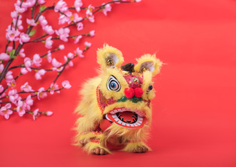 traditional dancing lion