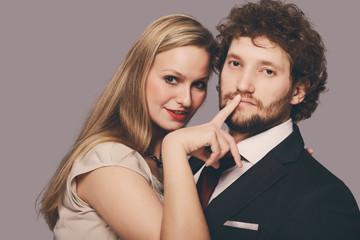elegante paar