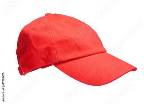 rotes Baseballcap - 77385478