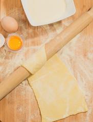 Sfoglia di pasta fresca all'uovo
