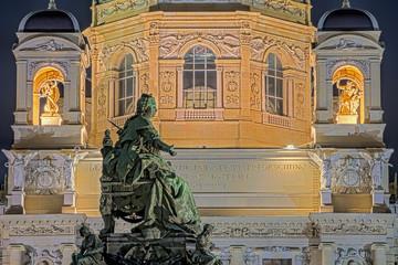 Maria Theresia Naturwissenschaftsliches Museum Wien Nacht