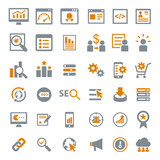 Marketing Seo Icons poster