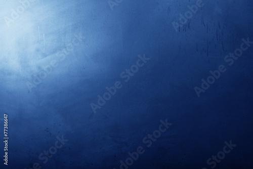 fondo lavagna blu poster