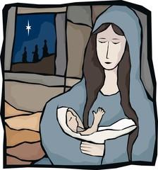 Mary & child