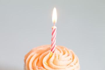 Cupcake On White Background