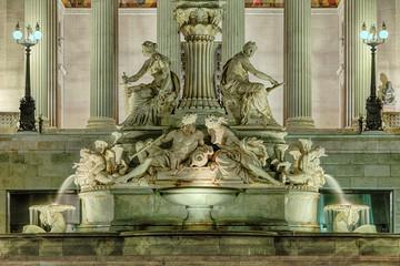 Pallas Athene Brunnen Parlament Wien