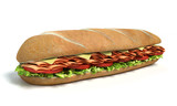 Sub Sandwich isolated