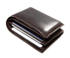 portefeuille de cuir
