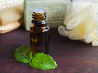 Essential mint oil