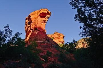 USA, Arizona, Yavapai County,  Fay Canyon, Sandstone Monolith