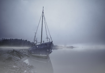 Finland, Ghostly boat