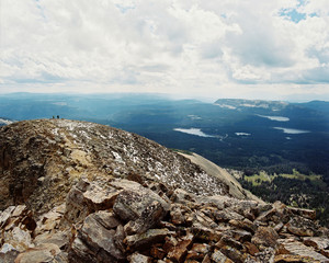 USA, Utah, View from top of Bald Mountain