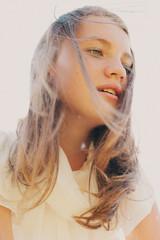 Russia, Summer portrait of beautiful teenage girl (14-15)