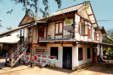 Thailand, Khon Kaen, Railway Station House