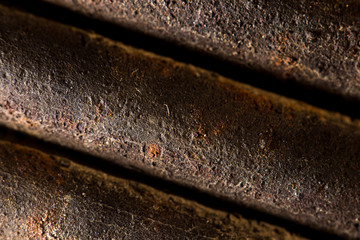 abstract background of rusty metal