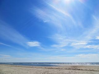 Denmark, View of beach