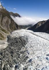 New Zealand, View of Franz Joseph Glacier