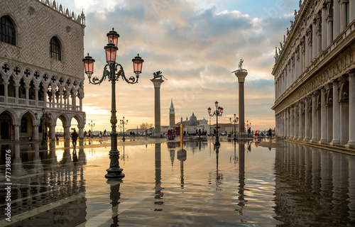 Keuken foto achterwand Venice Venezia 3989