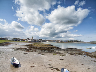 Ballywalter, County Down, Northern Ireland, Beach Scene