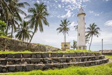 old lighthouse in Galle city