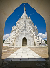 Myanmar, Mingun, Hsinbyume pagoda