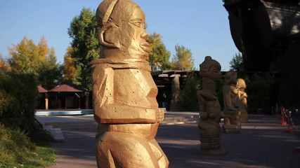 bronze statues of ancient gods