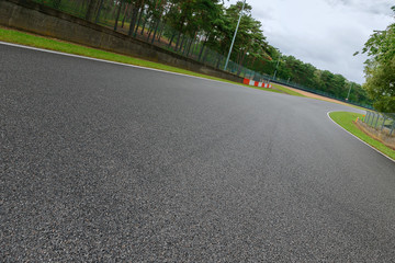 Motorsport Rennstrecke 4 © apfelweile