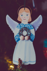 Angel Christmas ornament