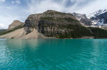 Canada, Alberta, Banff National Park, Mt Babel and Moraine Lake