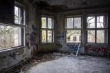 Fototapety Bâtiment abandonné
