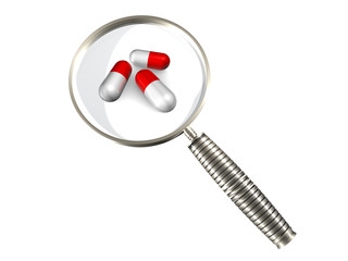 Onderzoek naar drugs in laboratorium