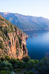 Coastline of Corsica