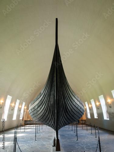 Leinwandbild Motiv The Viking Ship Museum in Oslo
