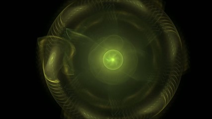 An abstract computer generated fractal design