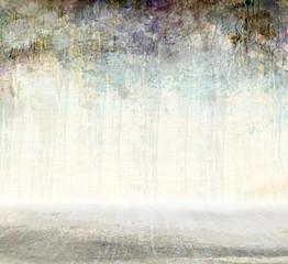 grunge scratching interior, vector background