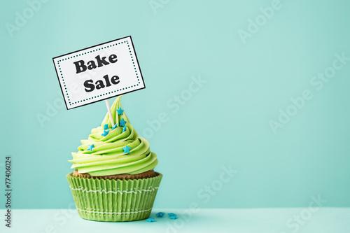 Bake sale cupcake - 77406024