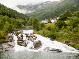 Hellesylt Waterfall