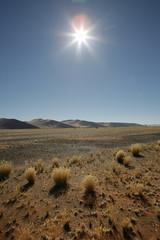 Namibia, Sossusvlei, View of sand dunes