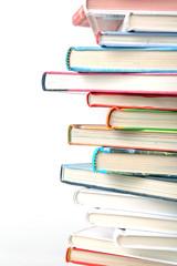 Ein Stapel Schulbücher
