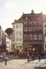 Denmark, Copenhagen, Picture of street