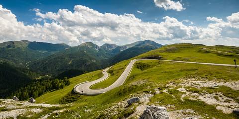 Alpina road at summer- Austria.