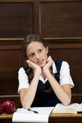 Portrait Of Teenage Student