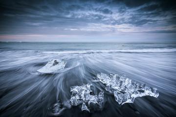 Iceland, Jokulsarlon ice beach