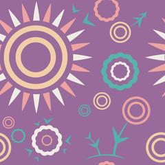 "Pattern lilac ""Summer mood"""