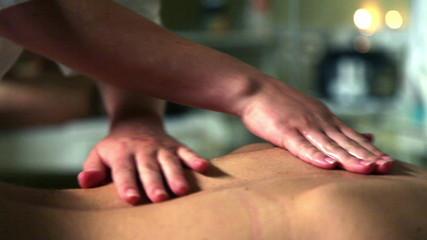 Female massage work