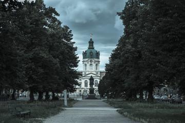 Germany, Berlin, View of Charlottenburg Palace